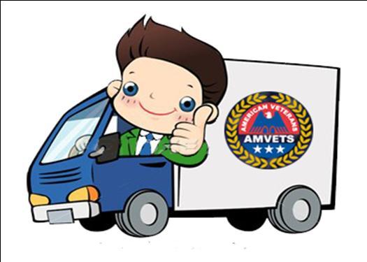 Amvets Donation Pickup Home